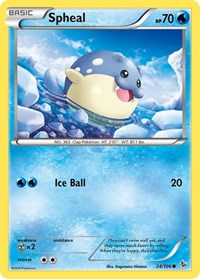 Spheal, Pokemon, XY - Flashfire