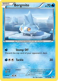 Bergmite, Pokemon, XY - Flashfire