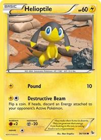 Helioptile, Pokemon, XY - Flashfire