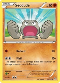 Geodude, Pokemon, XY - Flashfire