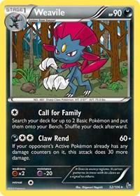 Weavile, Pokemon, XY - Flashfire