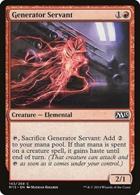 Generator Servant, Magic, Magic 2015 (M15)