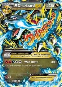 M Charizard EX (X), Pokemon, XY - Flashfire