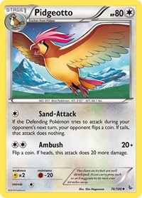 Pidgeotto, Pokemon, XY - Flashfire