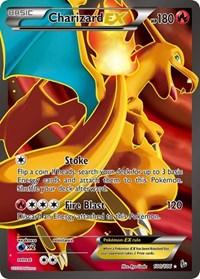 Charizard EX (100 Full Art), Pokemon, XY - Flashfire