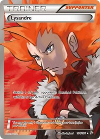 Lysandre (104 Full Art), Pokemon, XY - Flashfire