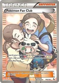 Pokemon Fan Club (106 Full Art), Pokemon, XY - Flashfire