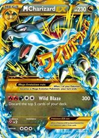 M Charizard EX (X) (Secret), Pokemon, XY - Flashfire