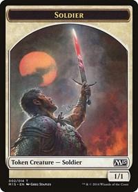 Soldier Token, Magic: The Gathering, Magic 2015 (M15)