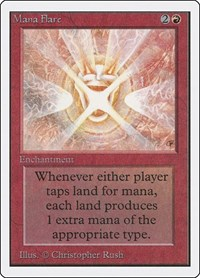 Mana Flare, Magic: The Gathering, Unlimited Edition