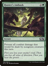 Hunter's Ambush, Magic: The Gathering, Magic 2015 (M15)