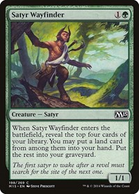 Satyr Wayfinder, Magic, Magic 2015 (M15)