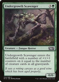 Undergrowth Scavenger, Magic: The Gathering, Magic 2015 (M15)
