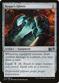 Rogue's Gloves, Magic: The Gathering, Magic 2015 (M15)