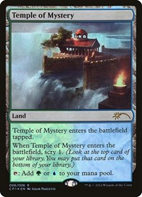 Temple of Mystery, Magic, Unique and Miscellaneous Promos