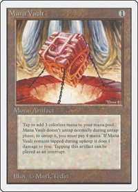 Mana Vault, Magic: The Gathering, Unlimited Edition