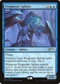 Prognostic Sphinx, Magic: The Gathering, Unique and Miscellaneous Promos