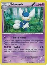 Meowstic (XY Flashfire), Pokemon, Deck Exclusives
