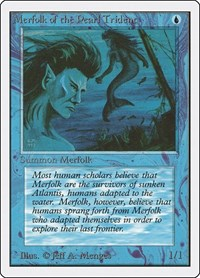 Merfolk of the Pearl Trident, Magic, Unlimited Edition