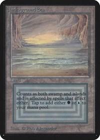 Underground Sea, Magic: The Gathering, Alpha Edition
