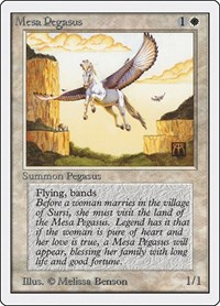 Mesa Pegasus, Magic: The Gathering, Unlimited Edition