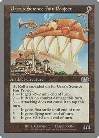 Urza's Science Fair Project, Magic: The Gathering, Unglued