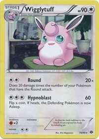 Wigglytuff - 79/99 (Cosmos Holo), Pokemon, Blister Exclusives