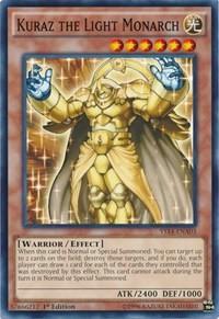 Kuraz the Light Monarch, YuGiOh, Super Starter: Space-Time Showdown Power-Up Pack