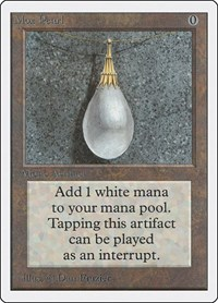 Mox Pearl, Magic: The Gathering, Unlimited Edition