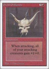 Orcish Oriflamme, Magic: The Gathering, Unlimited Edition