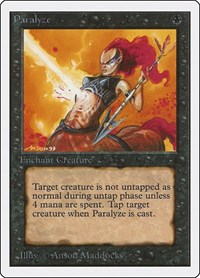 Paralyze, Magic: The Gathering, Unlimited Edition