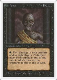 Pestilence, Magic: The Gathering, Unlimited Edition