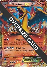 Charizard EX - XY17 (XY Black Star Promos), Pokemon, Jumbo Cards