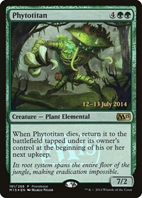 Phytotitan, Magic: The Gathering, Prerelease Cards