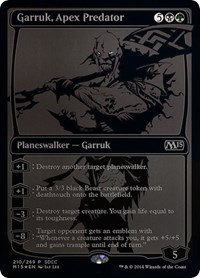 Garruk, Apex Predator SDCC 2014 EXCLUSIVE (Foil)
