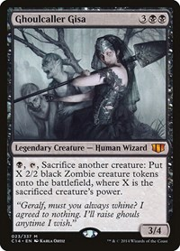 Ghoulcaller Gisa, Magic: The Gathering, Commander 2014