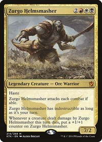 Zurgo Helmsmasher, Magic: The Gathering, Khans of Tarkir