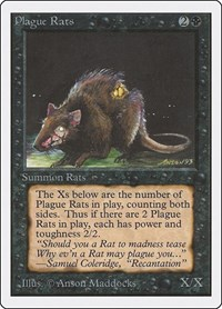 Plague Rats, Magic: The Gathering, Unlimited Edition