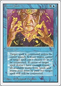 Power Sink, Magic, Unlimited Edition