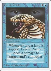 Psychic Venom, Magic, Unlimited Edition