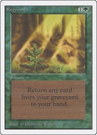 Regrowth, Magic: The Gathering, Unlimited Edition