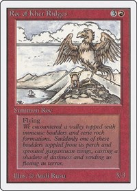 Roc of Kher Ridges, Magic, Unlimited Edition