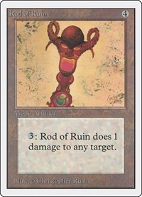 Rod of Ruin, Magic, Unlimited Edition