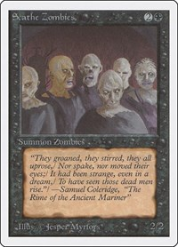 Scathe Zombies, Magic: The Gathering, Unlimited Edition