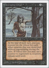 Scavenging Ghoul, Magic: The Gathering, Unlimited Edition