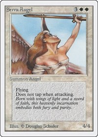Serra Angel, Magic: The Gathering, Unlimited Edition