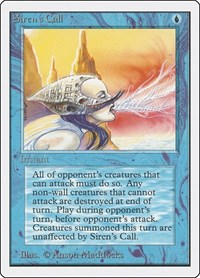 Siren's Call, Magic: The Gathering, Unlimited Edition