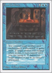 Steal Artifact, Magic: The Gathering, Unlimited Edition