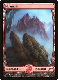 Mountain - Full Art, Magic: The Gathering, Judge Promos