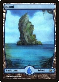 Island - Full Art, Magic: The Gathering, Judge Promos
